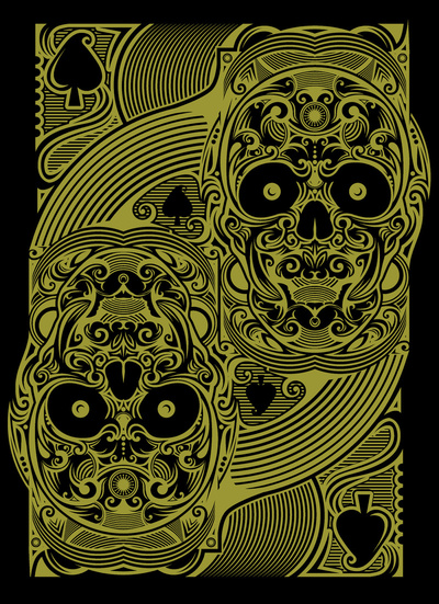House_Of_Rawkus_The_Ace_of_Spades_Gold_Skull