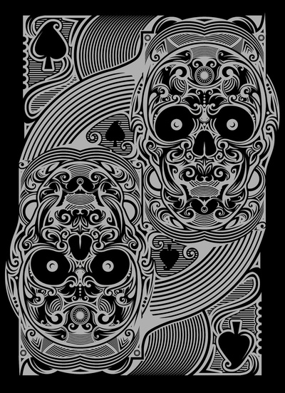 House_Of_Rawkus_The_Ace_of_Spades_Silver_Skull