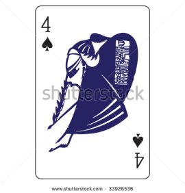 John_Lock_Playing_Cards_The_Four_of_Spades