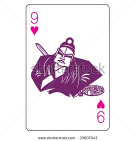 John_Lock_Playing_Cards_The_Nine_of_Hearts