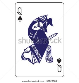 John_Lock_Playing_Cards_The_Queen_of_Spades
