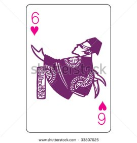 John_Lock_Playing_Cards_The_Six_of_Hearts