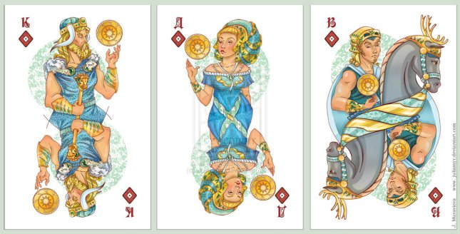 JuliaMyr_Playing_Cards_Court_Cards_Diamonds
