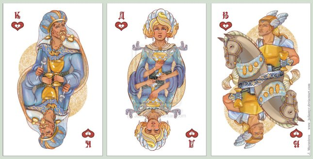 JuliaMyr_Playing_Cards_Court_Cards_Hearts