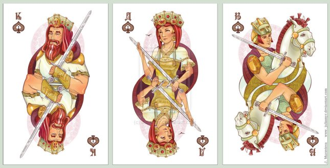 JuliaMyr_Playing_Cards_Court_Cards_Spades