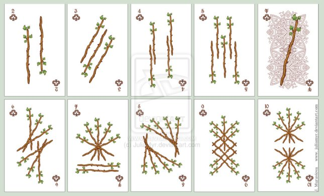 JuliaMyr_Playing_Cards_Number_Cards_Clubs