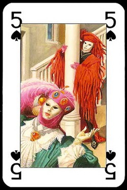 Lo_Scarabeo_Carnival_The_Five_of_Spades
