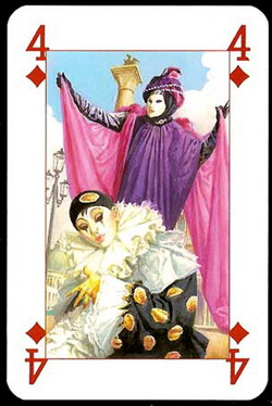 Lo_Scarabeo_Carnival_The_Four_of_Diamonds
