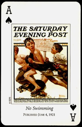 N_Rockwell_Saturday_Evening_Post_The_Ace_of_Spades