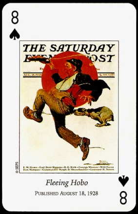 N_Rockwell_Saturday_Evening_Post_The_Eight_of_Spades