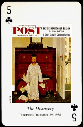 N_Rockwell_Saturday_Evening_Post_The_Five_of_Clubs