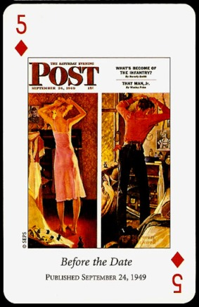 N_Rockwell_Saturday_Evening_Post_The_Five_of_Diamonds