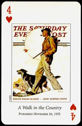 N_Rockwell_Saturday_Evening_Post_The_Four_of_Hearts