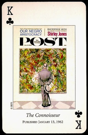 N_Rockwell_Saturday_Evening_Post_The_King_of_Clubs