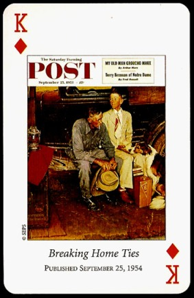 N_Rockwell_Saturday_Evening_Post_The_King_of_Diamonds