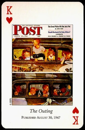 N_Rockwell_Saturday_Evening_Post_The_King_of_Hearts