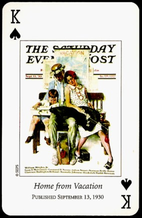 N_Rockwell_Saturday_Evening_Post_The_King_of_Spades