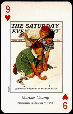 N_Rockwell_Saturday_Evening_Post_The_Nine_of_Hearts