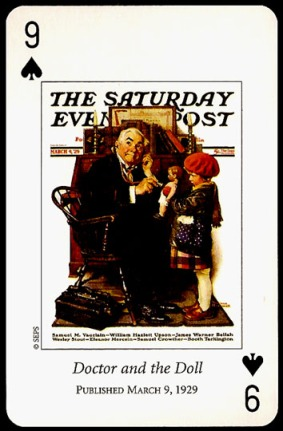 N_Rockwell_Saturday_Evening_Post_The_Nine_of_Spades