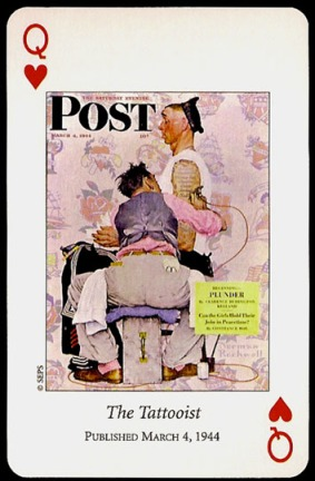 N_Rockwell_Saturday_Evening_Post_The_Queen_of_Hearts