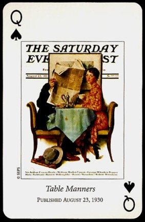 N_Rockwell_Saturday_Evening_Post_The_Queen_of_Spades