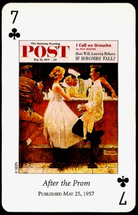 N_Rockwell_Saturday_Evening_Post_The_Seven_of_Clubs