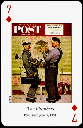 N_Rockwell_Saturday_Evening_Post_The_Seven_of_Diamonds
