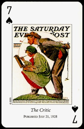 N_Rockwell_Saturday_Evening_Post_The_Seven_of_Spades