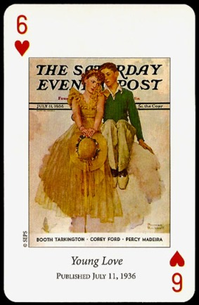 N_Rockwell_Saturday_Evening_Post_The_Six_of_Hearts