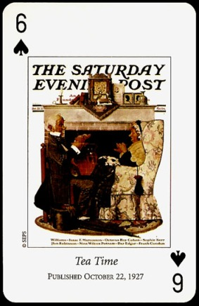 N_Rockwell_Saturday_Evening_Post_The_Six_of_Spades