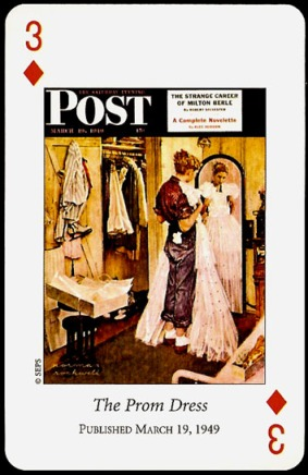 N_Rockwell_Saturday_Evening_Post_The_Three_of_Diamonds