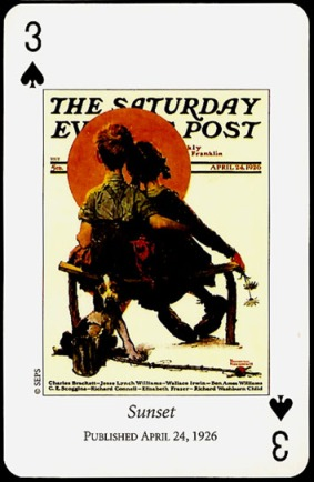 N_Rockwell_Saturday_Evening_Post_The_Three_of_Spades