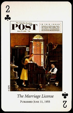 N_Rockwell_Saturday_Evening_Post_The_Two_of_Clubs