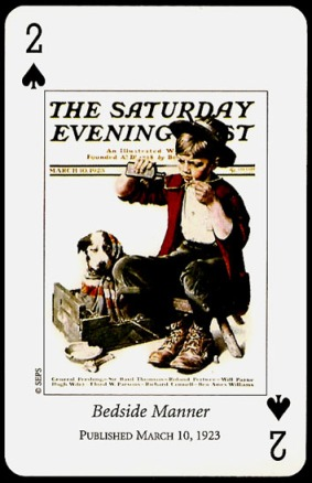 N_Rockwell_Saturday_Evening_Post_The_Two_of_Spades