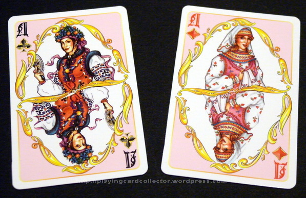 Narodni_Zabavy_Playing_Cards_Queens_2