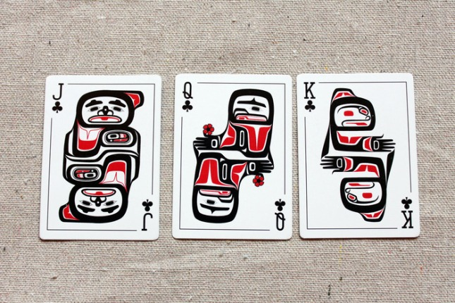 Native_Art_Playing_Cards_Clubs