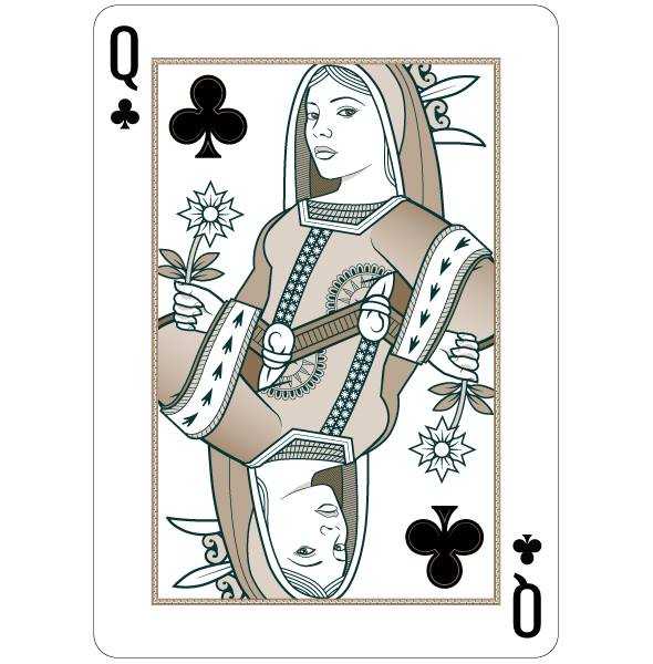 Origins_Playing_Cards_The_Queen_of_Clubs