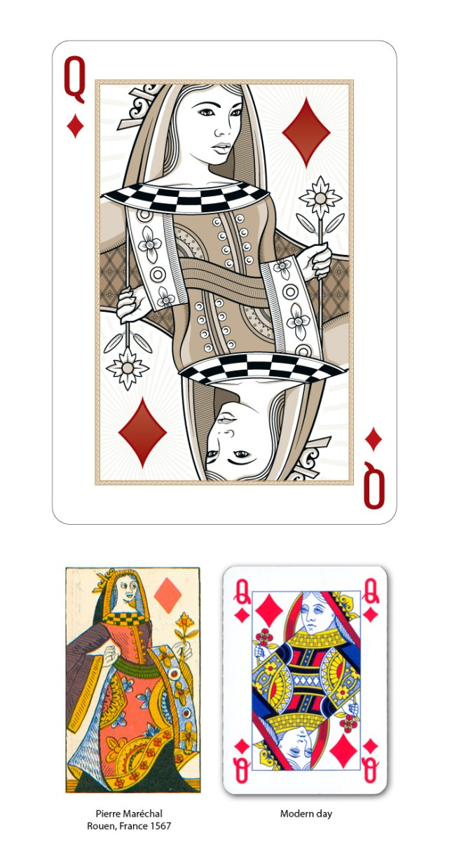 Origins_Playing_Cards_The_Queen_of_Diamonds