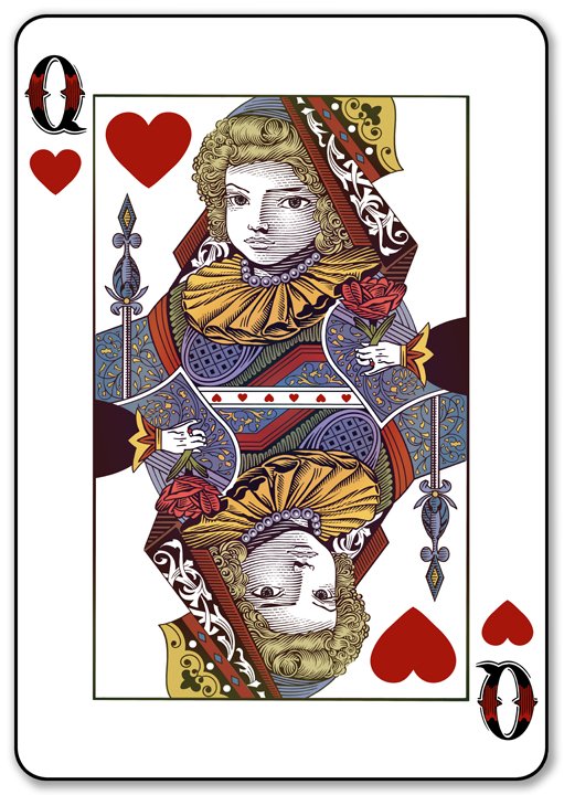 The Queen of Hearts | PLAYING CARDS + ART = COLLECTING ...