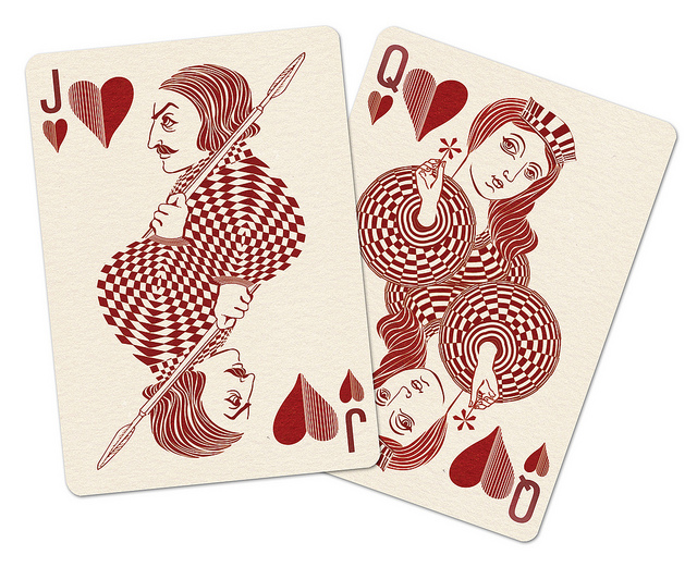 Royal_Optik_Playing_Cards_Jack_Queen_of_Hearts