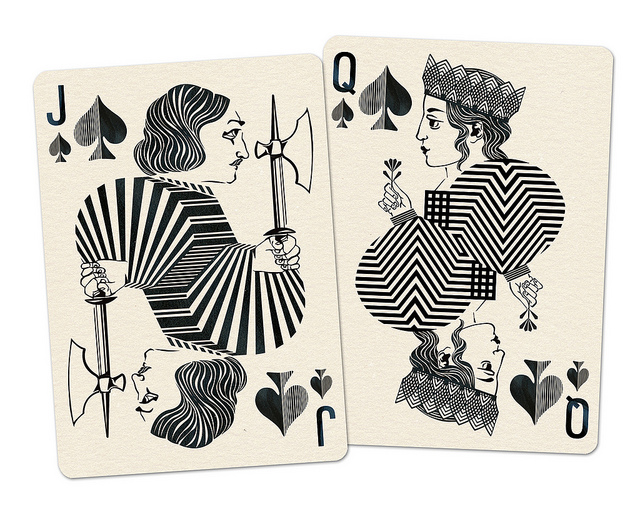 Royal_Optik_Playing_Cards_Jack_Queen_of_Spades