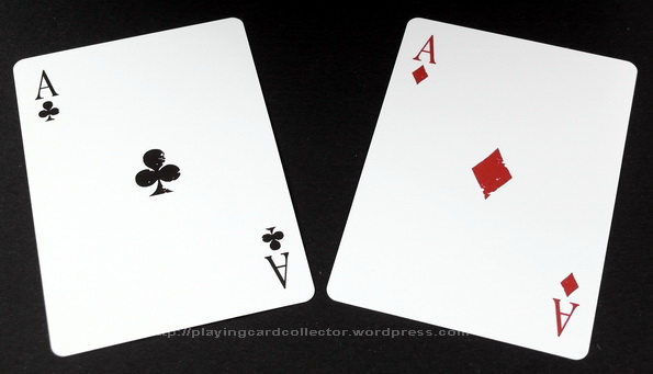 2 aces playing cards