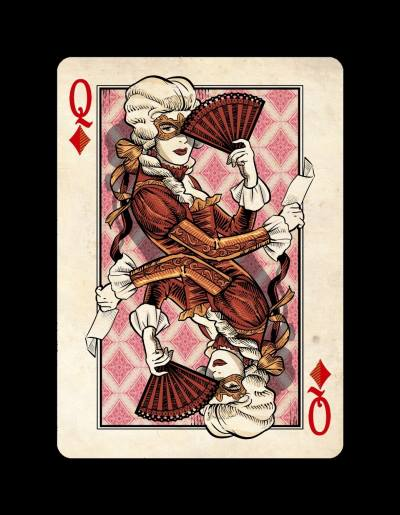 Venexiana_Playing_Cards_The_Queen_of_Diamonds