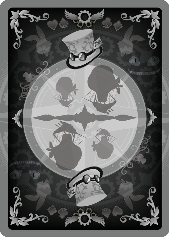 Alice_of_Wonderland_Playing_Cards_Back_Silver_Edition
