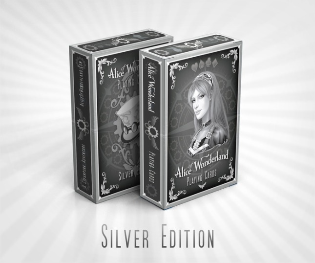 Alice_of_Wonderland_Playing_Cards_Box_Silver_Edition