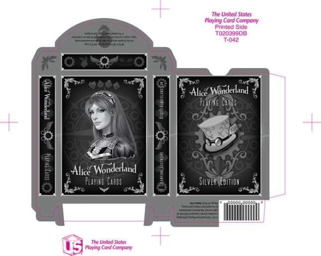 Alice_of_Wonderland_Playing_Cards_Box_Siver_Edition_2