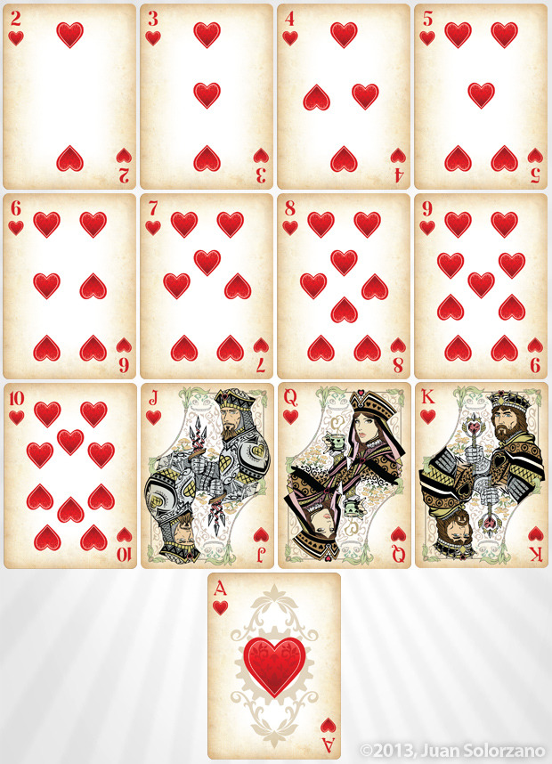 alice in wonderland playing cards images