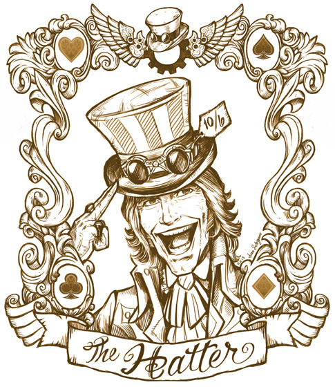 Alice_of_Wonderland_Playing_Cards_The_Hatter