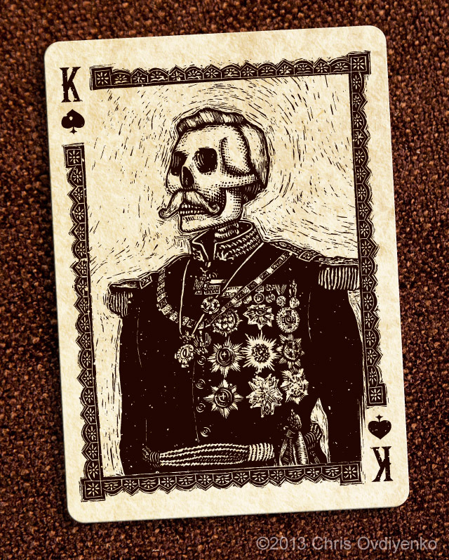 Bicycle_Calaveras_Playing_Cards_The_King_of_Spades