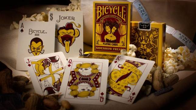 Bicycle_Freakshow_Playing_Cards